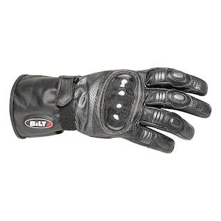 Bilt 4 Kids Strike Leather Gloves (Color: Gunmetal/Black / Size: SM) 1133383