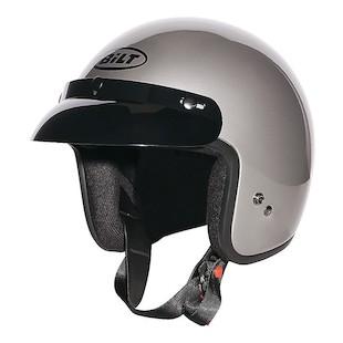 Custom Bilt Jet Helmet (Color: Pearl Grey / Size: XL) 1133521