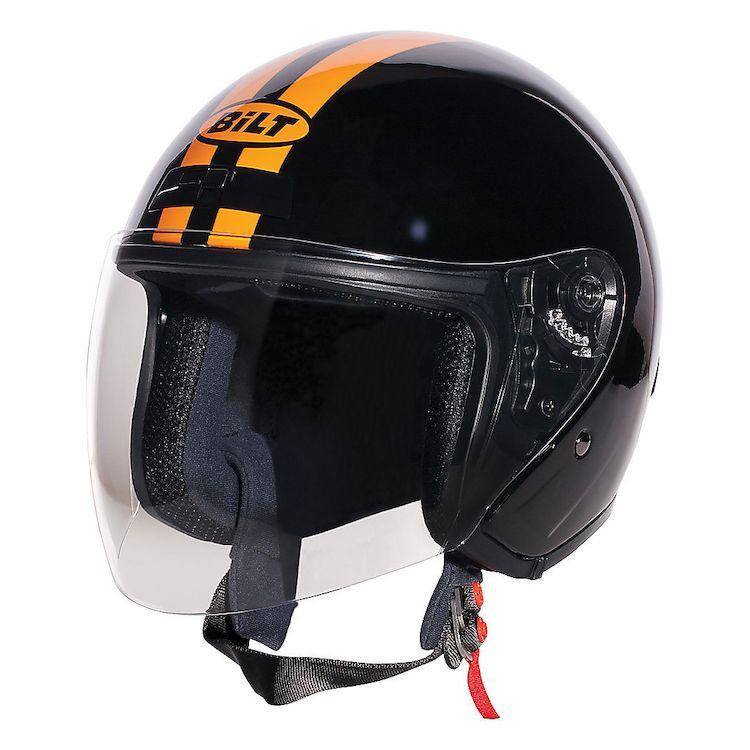9312a9b6 Bilt Roadster Retro Helmet. Read 42 Reviews Read 1 Review Read 42 Reviews  Write a Review. Black/Orange