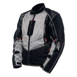 Sedici Alexi Mesh Jacket (Color: Gray/Black / Size: 2XL) 1136205
