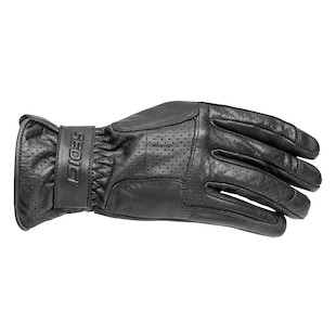 Sedici Alexi Perforated Gloves (Color: Black / Size: SM) 1136215
