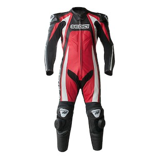 Sedici Rapido One-Piece Race Suit (Color: Red/White / Size: 44) 1136293