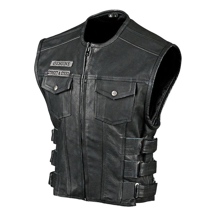 Street & Steel Anarchy Leather Vest