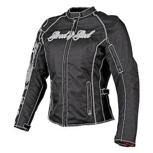 Street & Steel Heart Throb Women's Jacket (Color: Black / Size: SM) 1136589