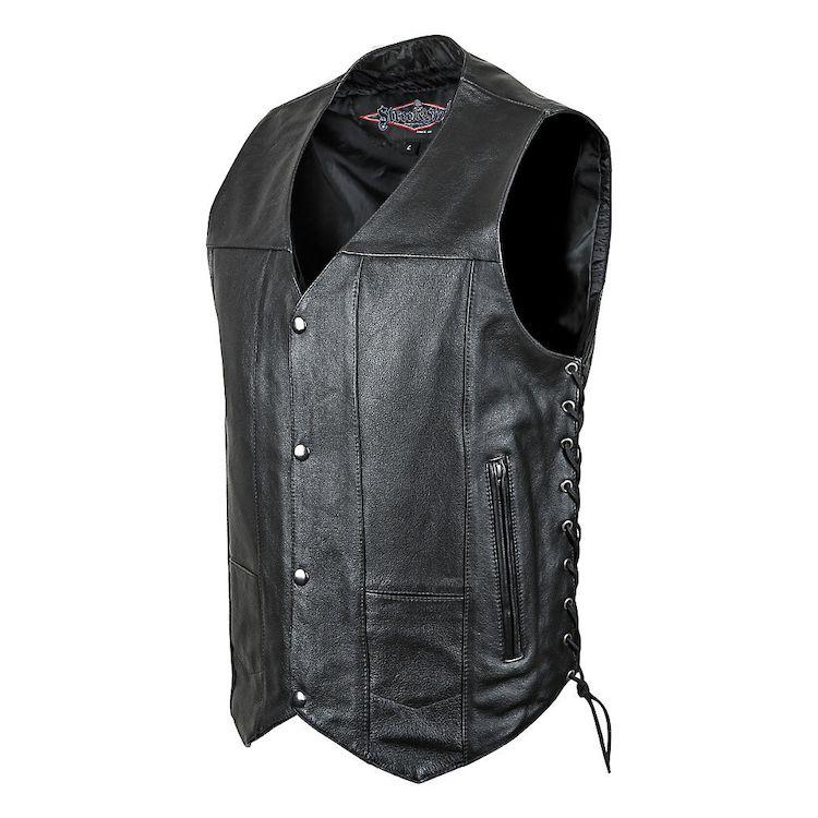 Street & Steel 2nd Amendment Leather Vest