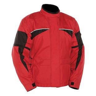 Bilt 4 Kids Thunder Waterproof Jacket (Color: Red/Black / Size: LG) 1133397