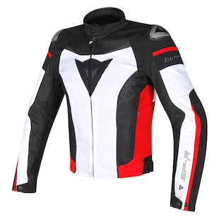 Dainese Super Speed Textile Jacket (Color: White/Black/Red / Size: 46) 1032183