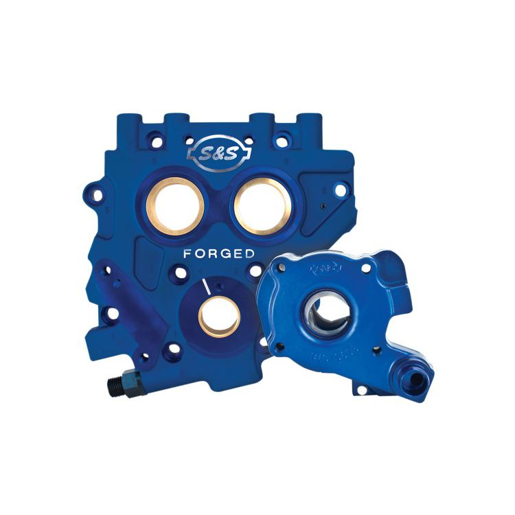 S&S TC3 Oil Pump Cam Support Plate Kit For Harley 2006-2017