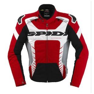 Spidi Warrior Tex Jacket (Color: Red/White/Black / Size: XL) 1021521