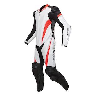 Sedici Primo One-Piece Race Suit (Color: White/Orange/Black / Size: 40) 1134922
