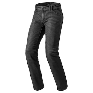 REV'IT! Orlando H2O Jeans (Color: Black / Size: 38X32) 1039474