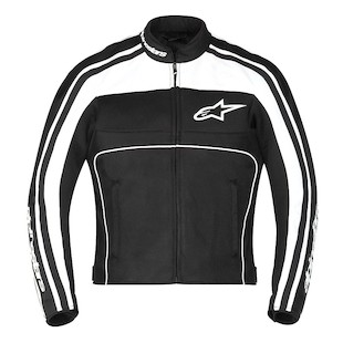 Alpinestars Stella T-Dyno Air Mesh Jacket (Color: Black/White / Size: MD) 1137958