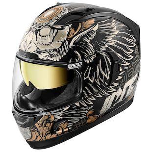 Icon Alliance GT Watchkeeper Helmet (Color: Black / Size: LG) 1139012
