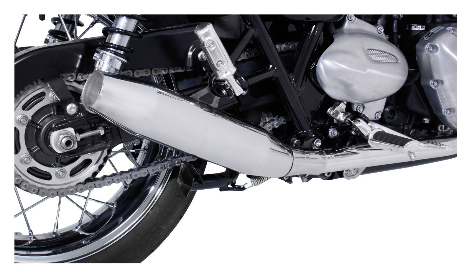 Remus Custom Tapered Slip On Exhaust Triumph Bonneville T120 2016