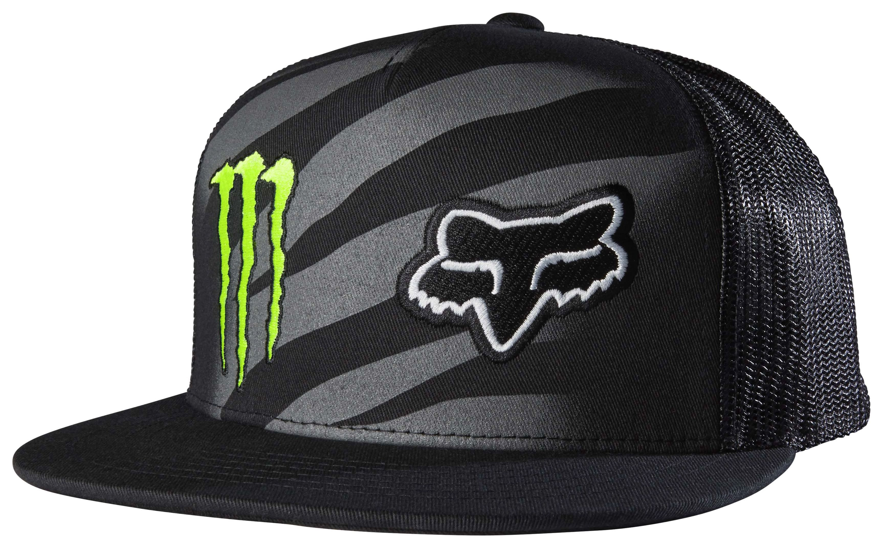 detailed pictures d1b93 6acc2 Fox Racing Monster Zebra Snapback Hat - Cycle Gear