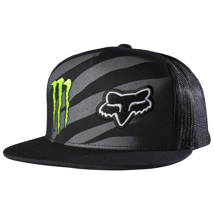 Fox Racing Monster Zebra Snapback Hat. Write a Review. Black 54f2b22844d5