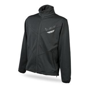 Fly Racing Mid Layer Jacket (Color: Black / Size: SM) 1140557