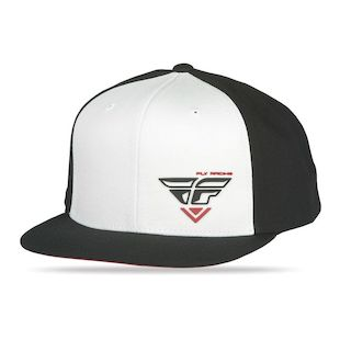 Fly Racing Choice Hat (Color: Black/White) 1140681