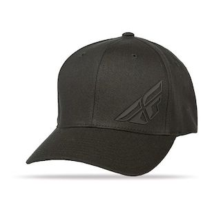 Fly Racing F Wing Hat (Color: Black / Size: LG-XL) 1140756