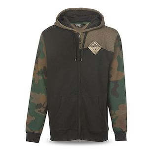 Fly Racing Patch Hoody (Color: Camo / Size: XL) 1140819
