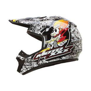 O'Neal 7 Series Moto XXX OG Helmet (Color: Black/White / Size: LG) 1121944