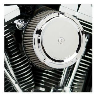 Arlen Ness Beveled Stage 1 Big Sucker Air Cleaner Kit For Harley Twin Cam 1999-2017 (Material: Synthetic Stainless Jacketed Air Filter / Type: Beveled Chrome Billet Cover) 1141342