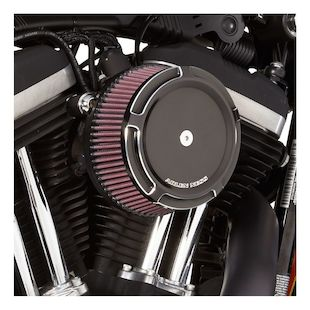 Arlen Ness Beveled Stage 1 Big Sucker Air Cleaner Kit For Harley 2008-2017 (Material: Standard Air Filter / Type: Beveled Chrome Billet Cover) 1141324