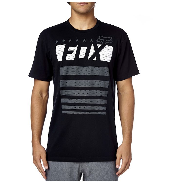 656d1576bf6 Fox Racing Red White And True T-Shirt. Write a Review. Black