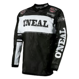 O'Neal Ultra Lite 75 Jersey (Color: Black/White / Size: MD) 1143435