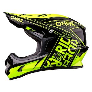 O'Neal Youth 3 Series Fuel Helmet (Color: Black/Hi-Viz / Size: YTH XL) 1143958