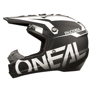 O'Neal 5 Series Blocker Helmet (Color: Black/White / Size: MD) 1144017