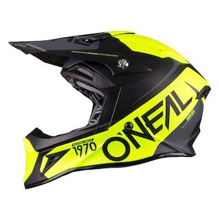 O'Neal 10 Series Flow Helmet (Color: Black/Grey/Hi-Viz / Size: XL) 1144071