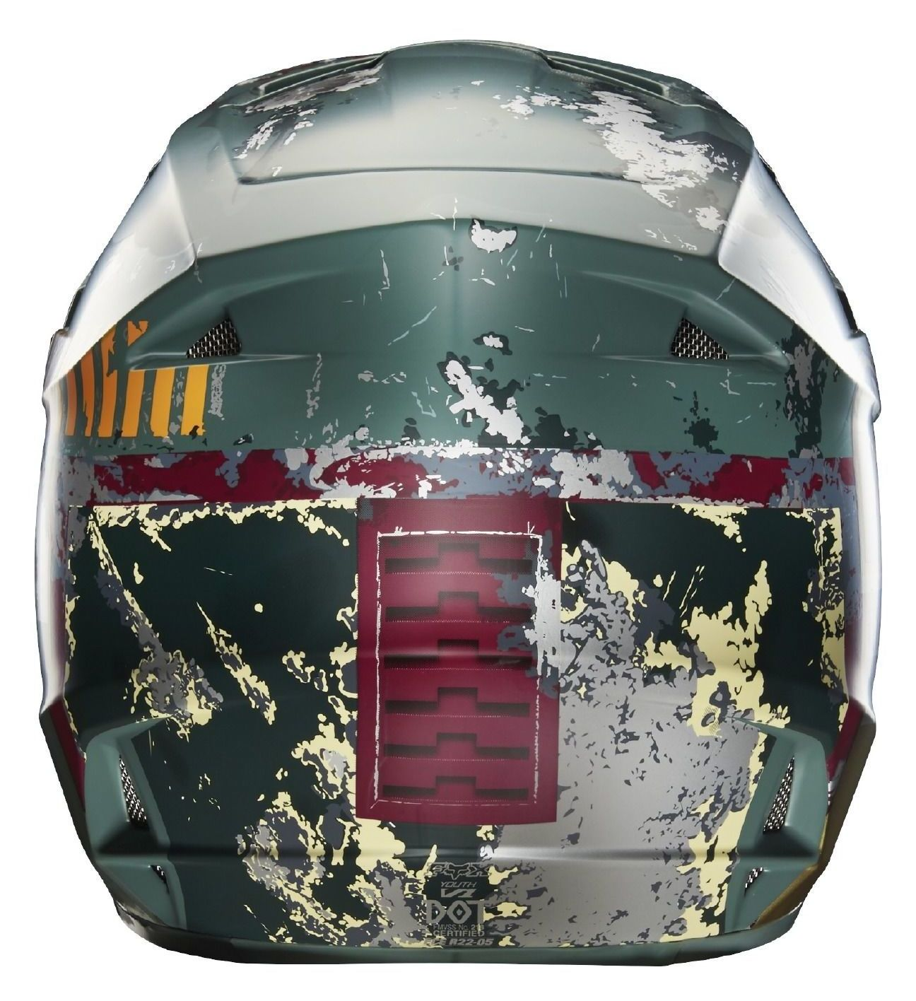 4a52483c6 Fox Racing Youth V1 Boba Fett LE Helmet - Cycle Gear