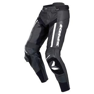 Spidi RR Pro Leather Pants (Color: Black/White / Size: 56) 755102