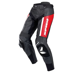 Spidi RR Pro Leather Pants (Color: Red / Size: 56) 1100338