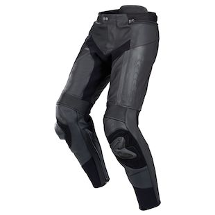 Spidi RR Pro Leather Pants (Color: Black / Size: 46) 1100349