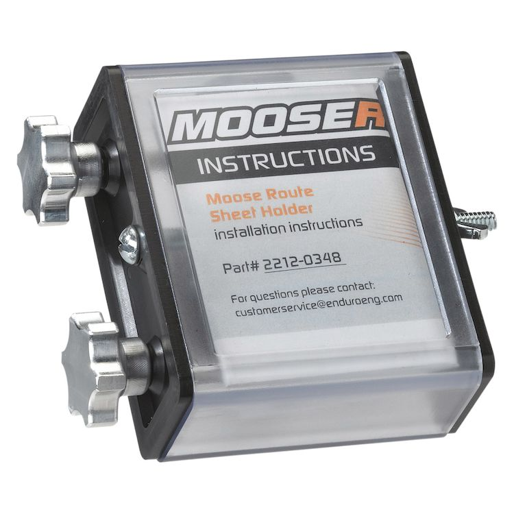 Moose Racing Side Load Route Sheet Holder