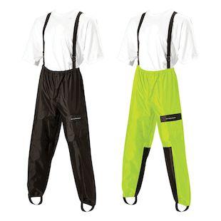 Nelson Rigg AS-250 Aston Rain Pants (Color: Black/Hi-Viz Yellow / Size: SM) 889387