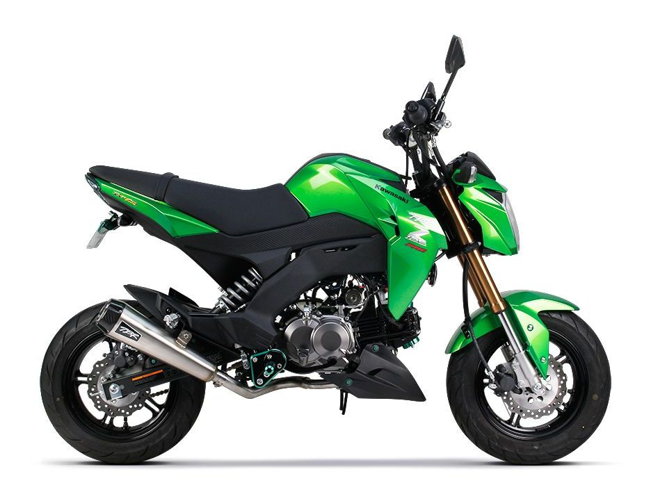 Two Brothers P Exhaust System Kawasaki Z125 Pro 20172018: Closeout Motorcycle Exhaust At Woreks.co