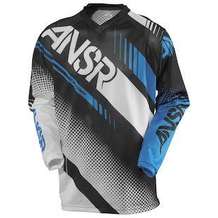 Answer Syncron Air Jersey (Color: White/Black/Cyan / Size: XS) 1146563