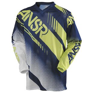 Answer Youth Syncron Air Jersey (Color: White/Navy/Acid / Size: XL) 1146600