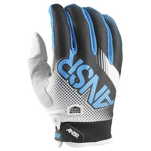 Answer Youth Syncron Air Gloves (Color: White/Black/Cyan / Size: XL) 1146605
