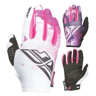 Fly Racing Kinetic Women's Gloves (Color: Pink/Purple / Size: MD) 1147315