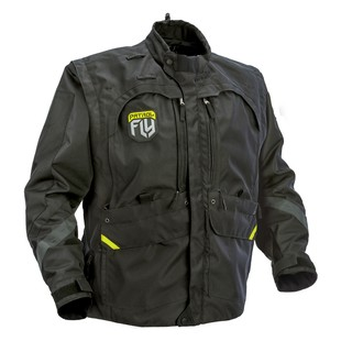 Fly Racing Patrol Jacket (Color: Black / Size: XL) 1147483