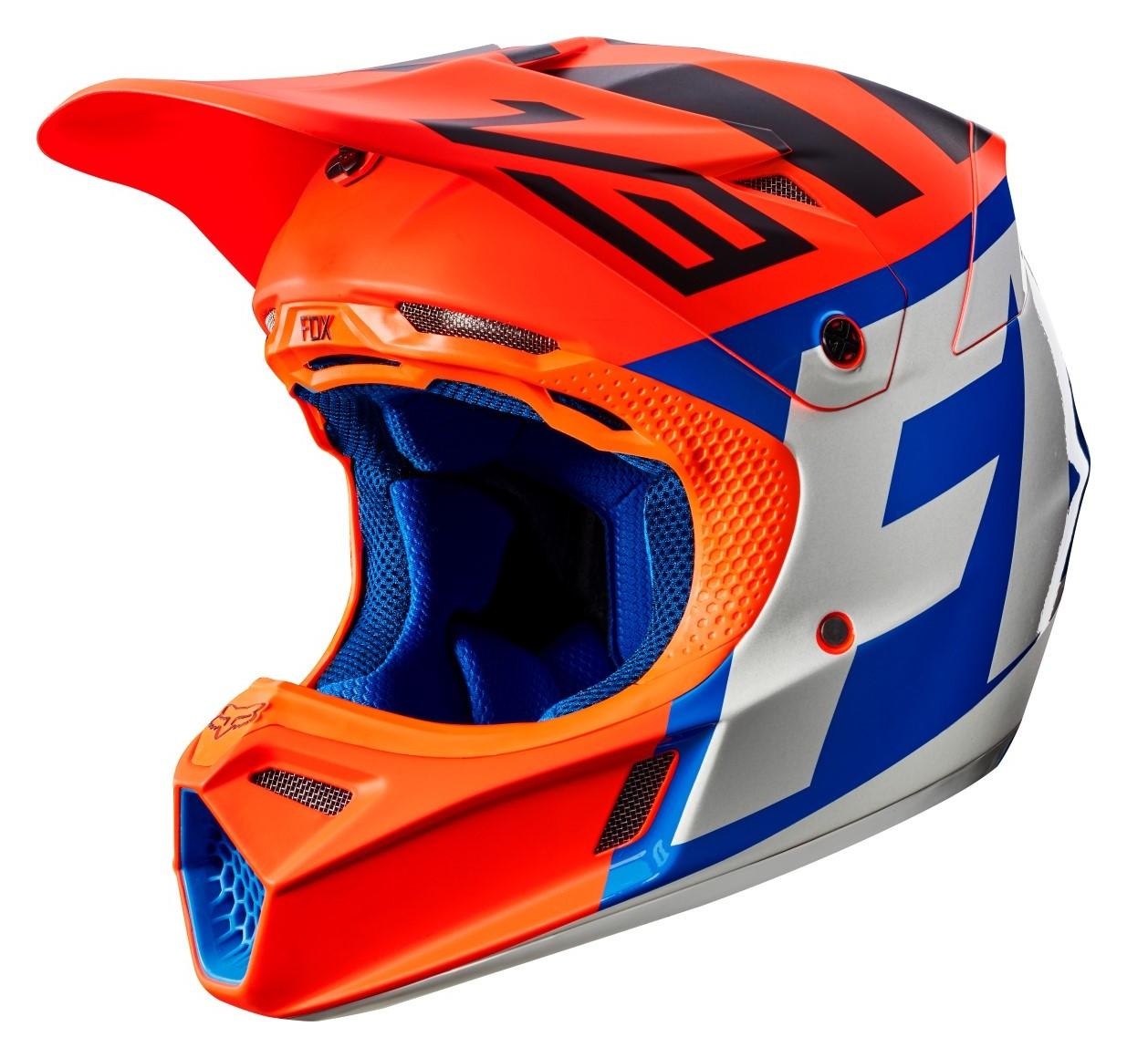 Fox Racing Youth V3 Creo Helmet Cycle Gear