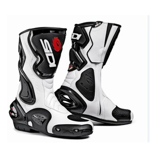 SIDI Cobra Boots (Color: Black/White / Size: 10/44) 737250