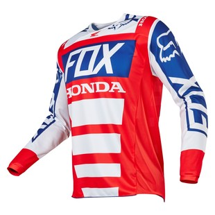 Fox Racing 180 Honda Jersey (Size SM Only) (Color: Red/White / Size: SM) 1151082