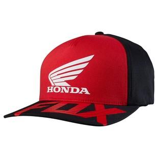 Fox Racing Honda Basic Flexfit Hat (Color: Red/Black / Size: SM-MD) 1151166