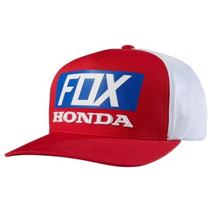 Fox Racing Honda Standard Hat (Color: Red/White/Blue) 1151190