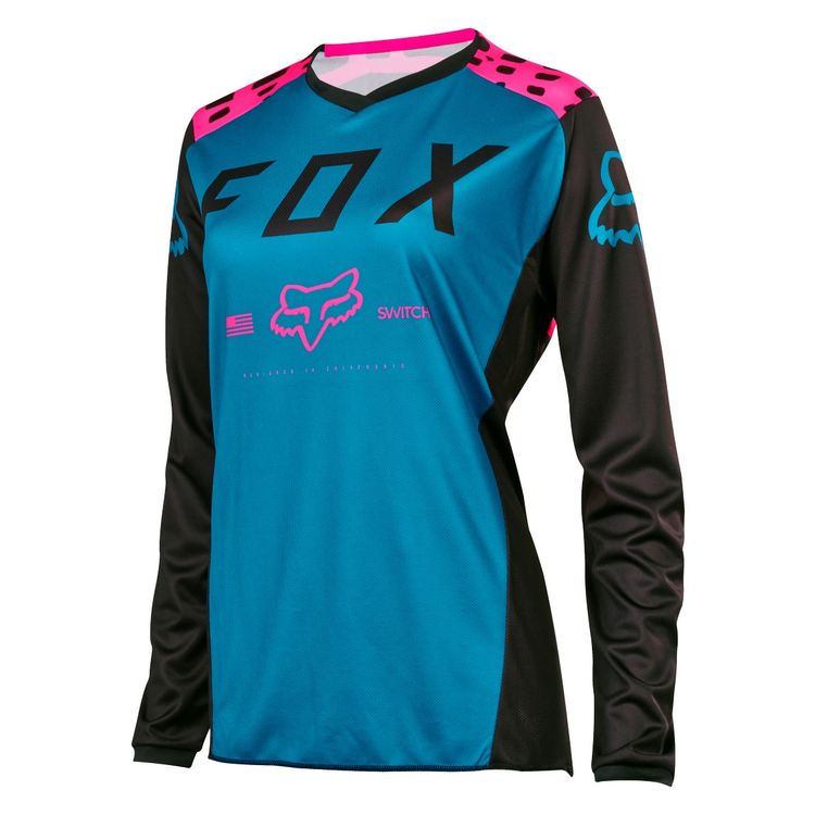 Fox Racing Switch Women s Jersey  Size XS Only  - Cycle Gear 26d405891